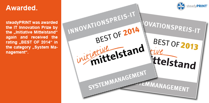 "IT Innovation Prize by ""Initiative Mittelstand"""