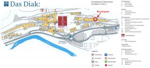 Lageplan Diakonie-Klinikum